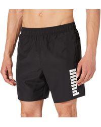 PUMA Swim Mid Shorts Trunks - Nero