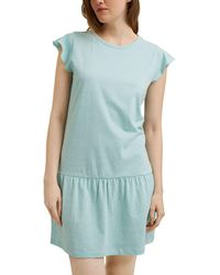 Esprit Arly Cas Nw Coo Nightshirt Nightgown - Blue