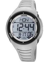 Calypso St. Barth Digital Quartz Watch With Plastic Strap K5807/1 - Grey
