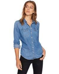 Levi's Ultimate Western Shirt - Blue