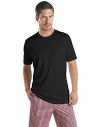 Hanro - Night And Day Short Sleeve Crew Neck Shirt - Lyst