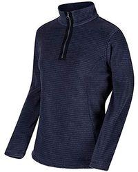 Regatta Womens//Ladies Embraced Half Zip Micro Fleece