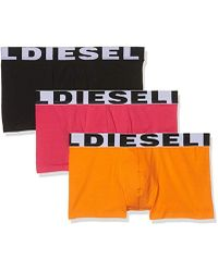 DIESEL UMBX-Shawn Boxershorts (3er Pack) - Orange