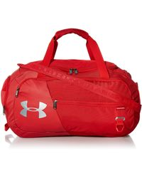 Under Armour Undeniable Duffle 4.0 Gym Bag - Rouge