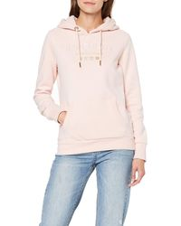 Superdry Premium Brand Heat Seal Entry Hood Sweat-Shirt À Capuche - Rose