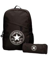 Converse Schoolpack XL Backpack Set Black 45GXB90 - Nero