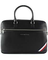 Tommy Hilfiger Am0am05577 Doentown Cumpure Bag Shoulder - Black