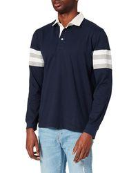 Cortefiel Polo ga Larga Suéter - Azul