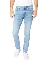 Pepe Jeans - W40 - Jeans da uomo con taglio tapered - Lyst