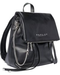 Replay - , FW3048.000.A0419 Donna, 98 Nero, UNIC - Lyst