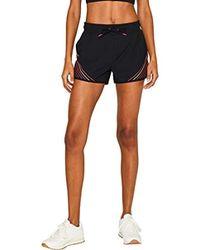Esprit Shorts WV Pt Pantaloncini Sportivi Donna - Nero