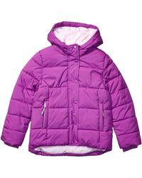 Amazon Essentials Heavy-Weight Hooded Puffer Coat dress-coats - Morado