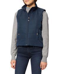 Vero Moda Vmsimone Aw21 Short Waistcoat Ga Boos Jacket - Blue