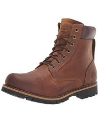 "Timberland Earthkeepers Rugged 6"" Waterproof, Botas Hombre, Marrón (Medium Brown), 45 EU (10.5 UK)"