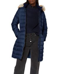 Tommy Hilfiger TJW Essential Hooded DOWN Coat Jacke - Grau