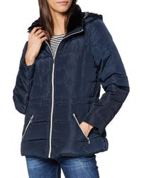 Dorothy Perkins Ski Short Padded Jacket - Blue