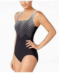 Reebok - Electric Express One Piece Swimsuit - Lyst