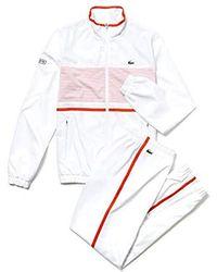 Lacoste Ensemble de Sport Homme - Blanc