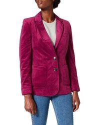 FIND Velvet Blazer - Chaqueta de traje - Morado