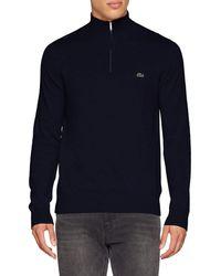 Lacoste Ah2682 suéter - Azul