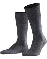 Falke Merino Wool/cotton - Black