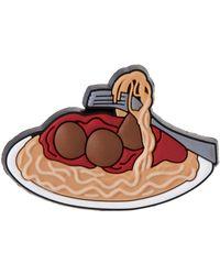 Crocs™ Jibbitz Food Shoe Charm | Personalize with Jibbitz for Spaghetti One-Size - Rojo