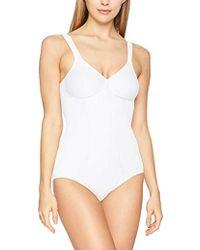 Triumph Modern Soft + Cotton BS Vestido Moldeador para Mujer - Blanco