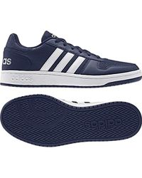 3eff2236d5fb3 adidas Unisex Adults' Hoops 2.0 Basketball Shoes in Gray for Men - Lyst