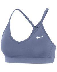 Nike - Reggiseno sportivo da - Lyst