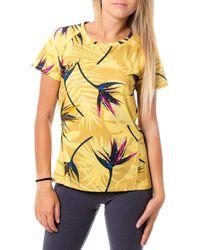Desigual Maglietta da donna giallo.