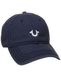 True Religion - Core Logo Baseball Cap - Lyst