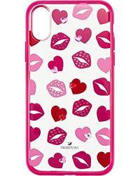 Swarovski LOVELY IPX Coque de protection en plastique pour femme Rose/rose Taille unique