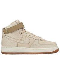 Nike Wmns Air Force 1 Hi Prm - Natural