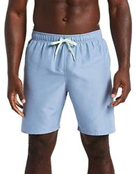 8bfcc050235cd Solid Vital Swim Volleyball Shorts - Blue