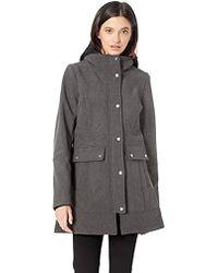 Steve Madden Softshell Fashion Jacket - Grey