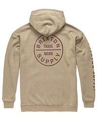 70ccbbe781 Oath Ii Relaxed Standard Fit Hood Fleece Sweatshirt