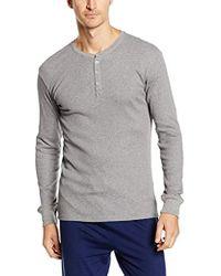 Levi's - Levis 300ls Long Sleeve Henley 1p Camiseta de Tirantes para Hombre - Lyst