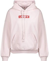 Levi's ® Graphic 2020 W Hoodie Peach Blush - Pink