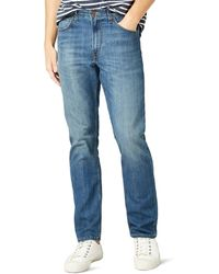 Lee Jeans Brooklyn Straight Jeans - Blu