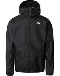 The North Face Sundowner Jacket For Men - Windproof, Lightweight, Black/white, Xxl