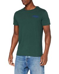 Superdry Cl ATH Micro Tee T-Shirt - Vert