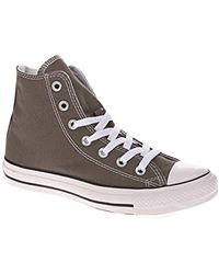 0b0a3714ef0f Converse All Star Hi Double Tongue Grynavywhite in Blue for Men - Lyst
