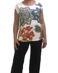 Desigual TS/_Yes T-Shirt Donna