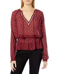 PAIGE Truly Blouse - Red