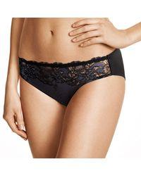 Wacoal Womens Lace Affair Panty Bikini Underwear - Black