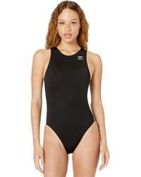 Speedo Avenger Water Polo Endurance+ One Piece Swimsuit Black