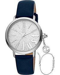 Just Cavalli Klassische Uhr JC1L119L0015 - Blau