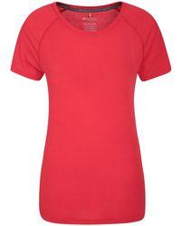 Mountain Warehouse Shirt – Round Neck Tee - Red