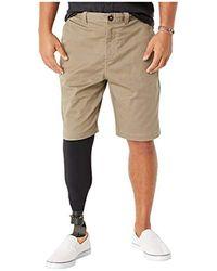 """Billabong Twill Stretch 21"""" Shorts - Natural"""