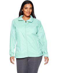 Columbia Switchback Iii Plus Size Jacket Rain - Blue